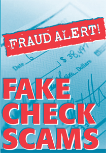 Beware of Fake Check Scams