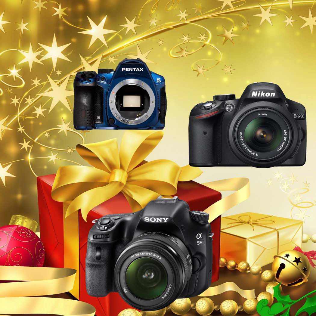Saving on Holiday Gifts: Top 7 DSLR Cameras
