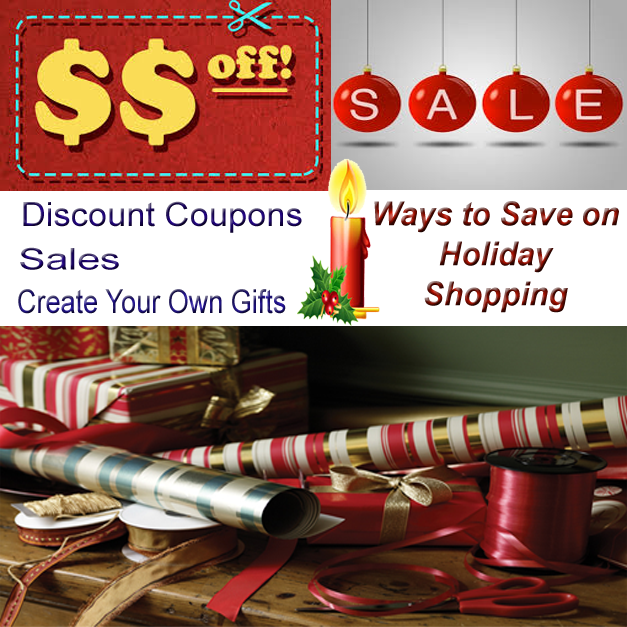 ways to save on holiday shopping