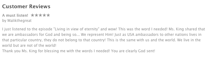 itunes reviews for lifethenfinance podcast