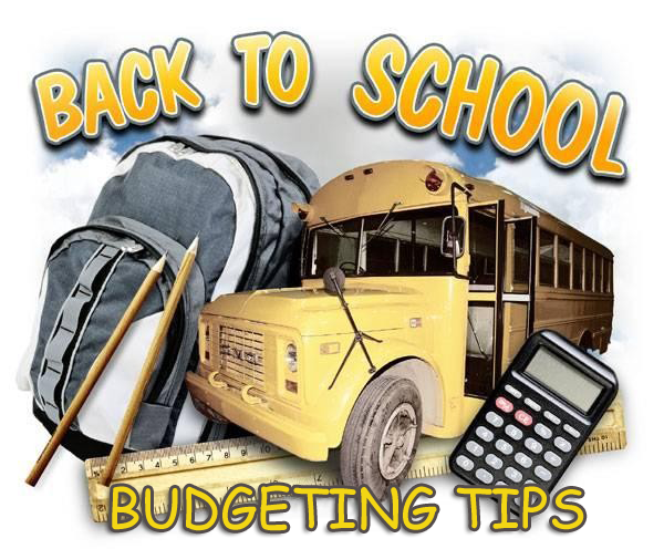 Back-to-School Budgeting Tips
