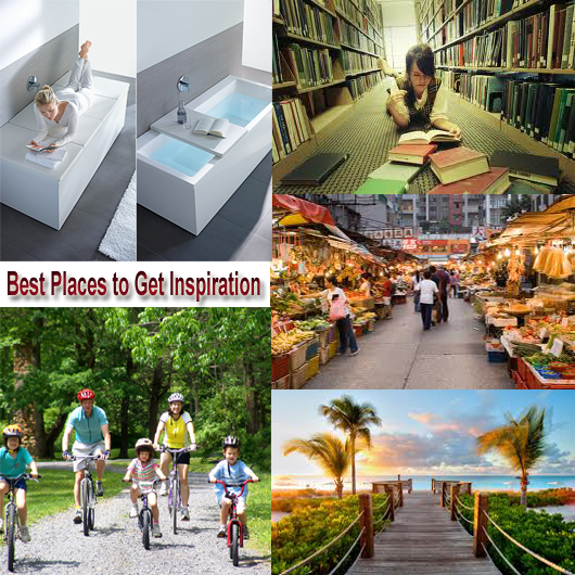 Best Places to Get Inspiration