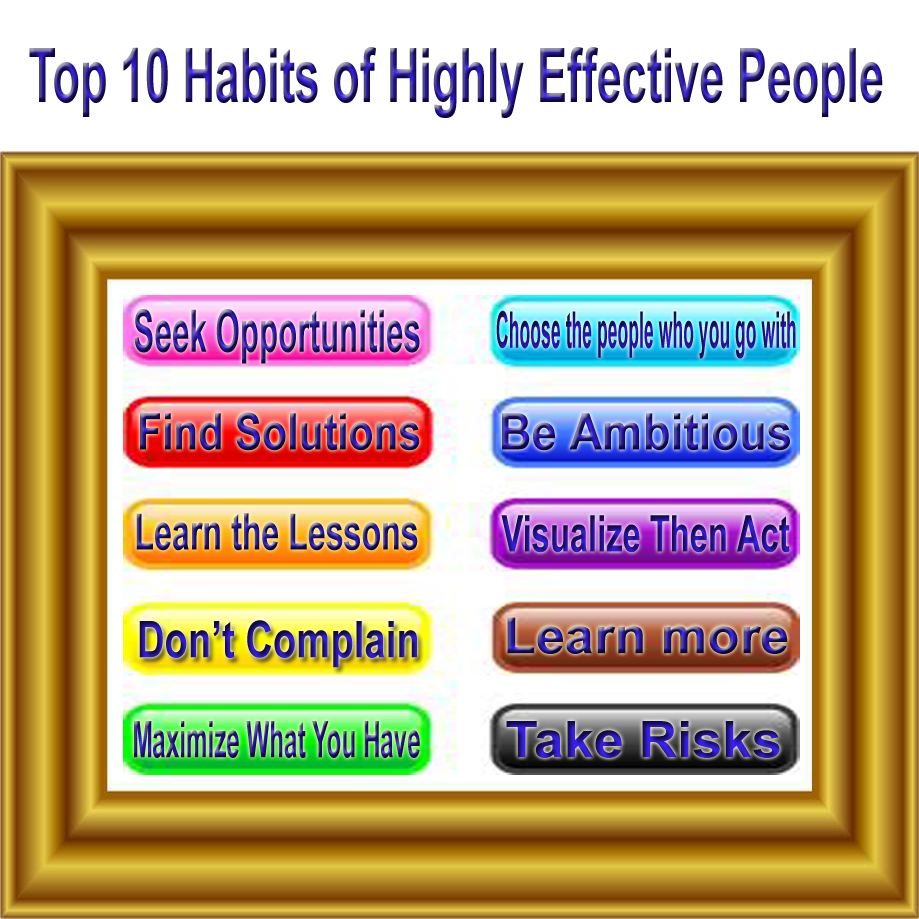 Top 10 Habits of Highly Effective People